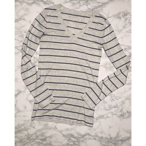 Gap The Bowery Super Soft Nautical Long-Sleeved T